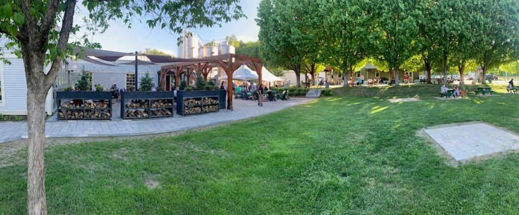 photo of Harpoon Brewery in Windsor, outdoors
