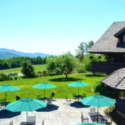 Trapp Family Lodge Outdoor Seating Photo