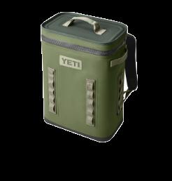 YETI Backflip cooler in highlands green
